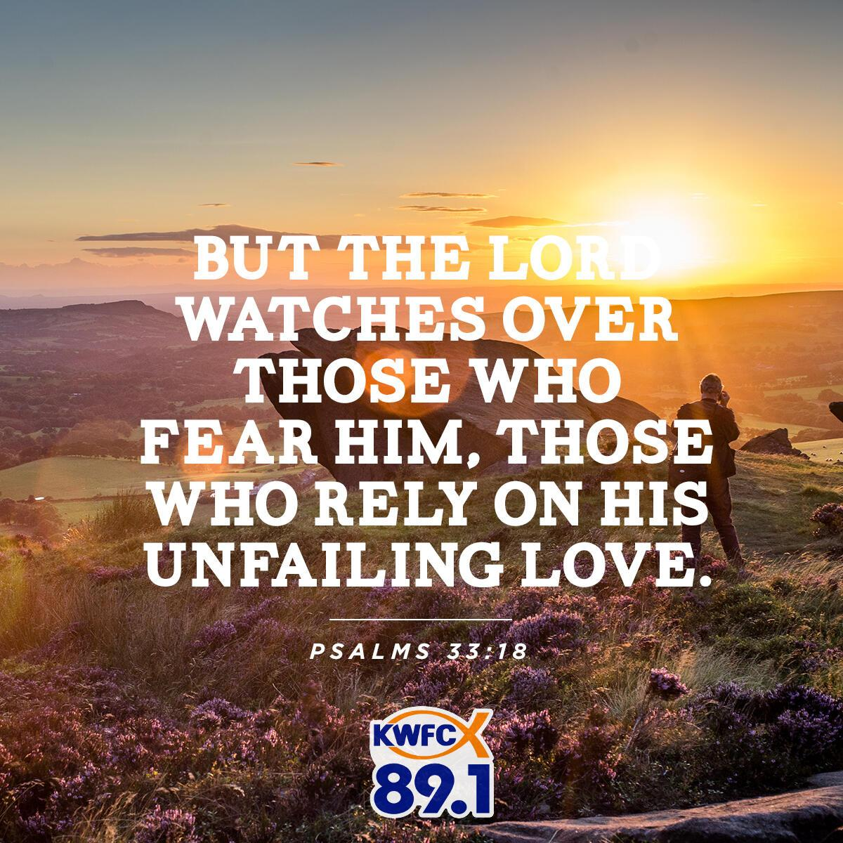 Psalms 33:18 - Verse of the Day