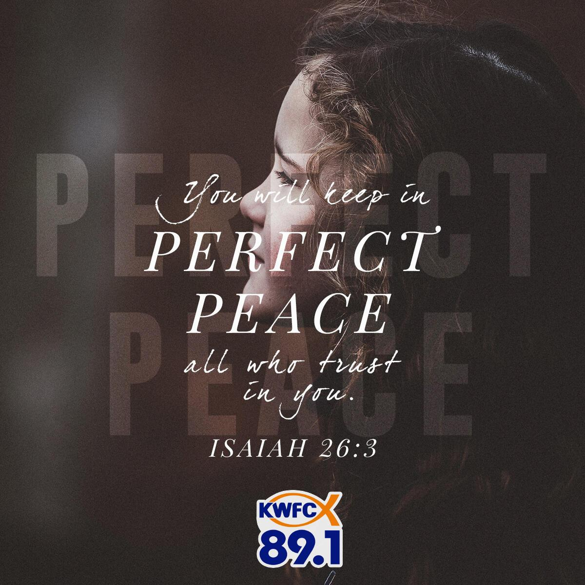 Isaiah 26:3 - Verse of the Day