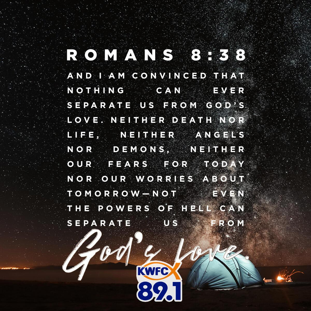 Romans 8:38 - Verse of the Day