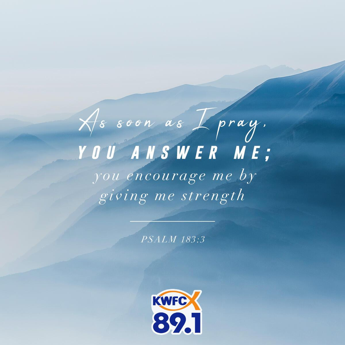 Psalm 183:3 - Verse of the Day