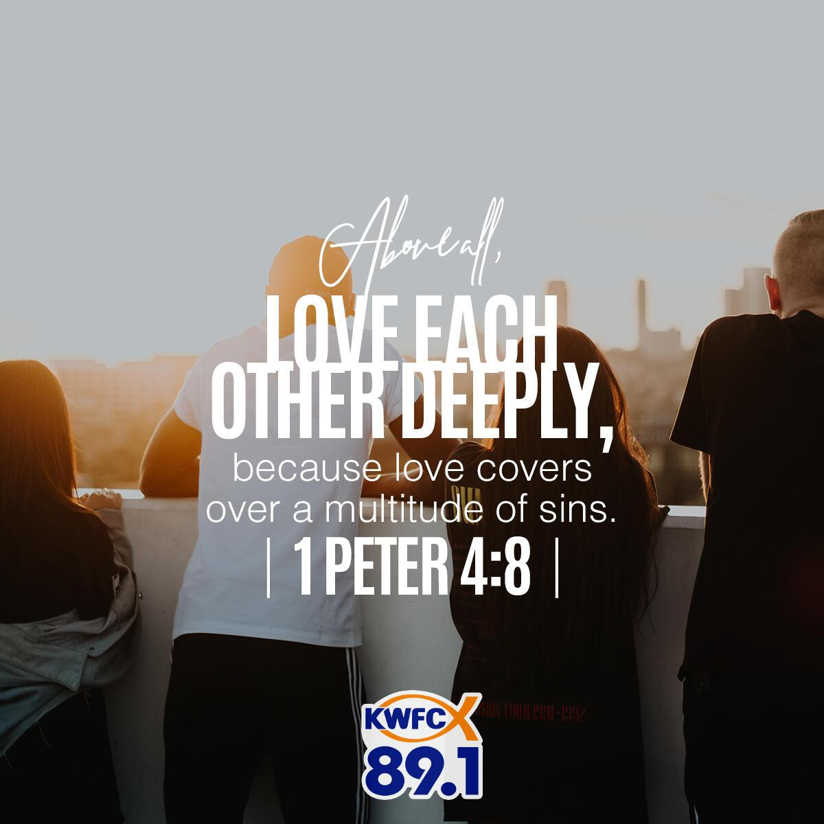 1 Peter 4:8 - Verse of the Day