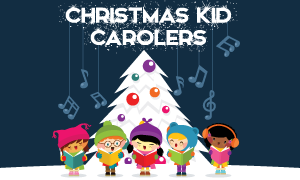 Christmas Kid Carolers 2018