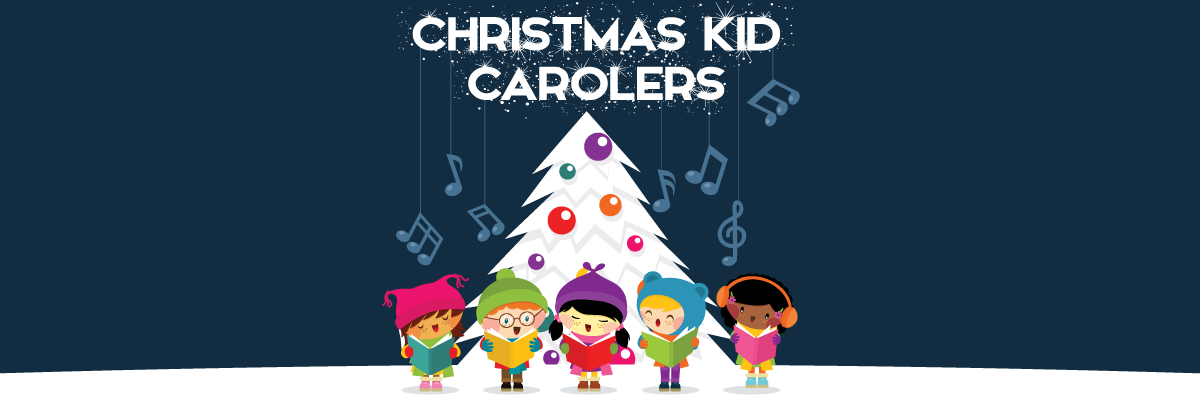 Christmas Kid Carolers